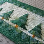 Evergreens Table Runner