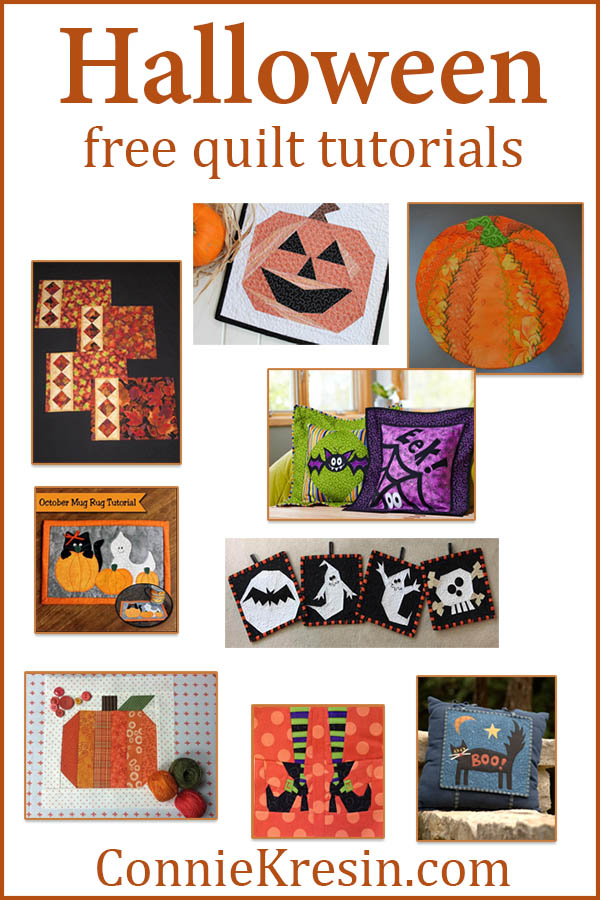 HALLOWEEN roundup of quilt patterns