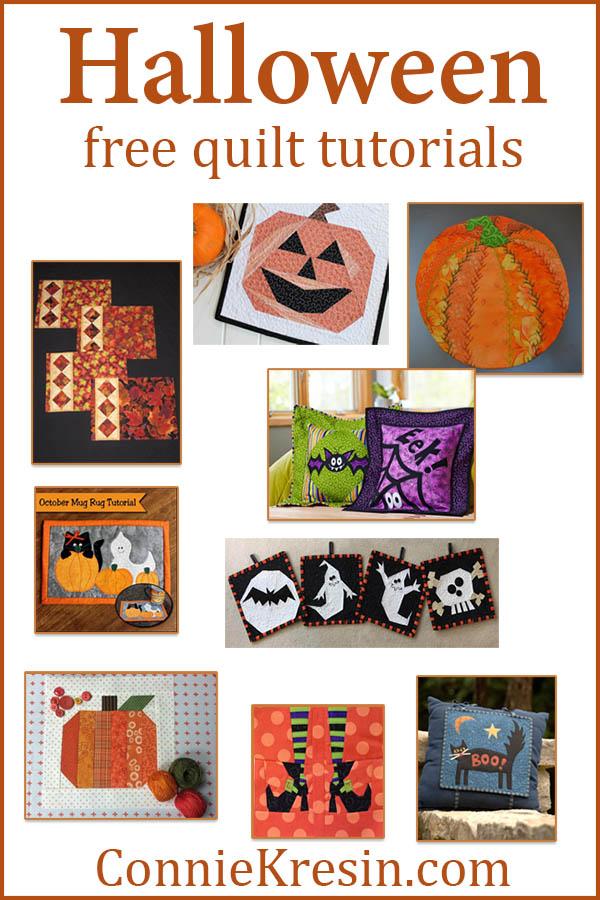 HALLOWEEN roundup of quilt patterns