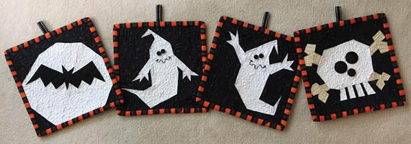 Halloween Roundup Paper pieced ghosts and more