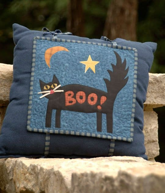 Halloween Round up Pillow Twice is nice