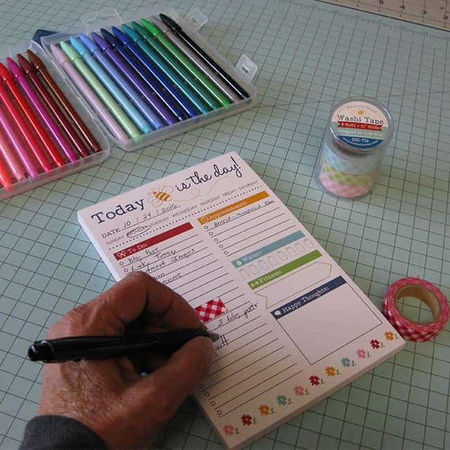 Scrappy Project Planner To Do list