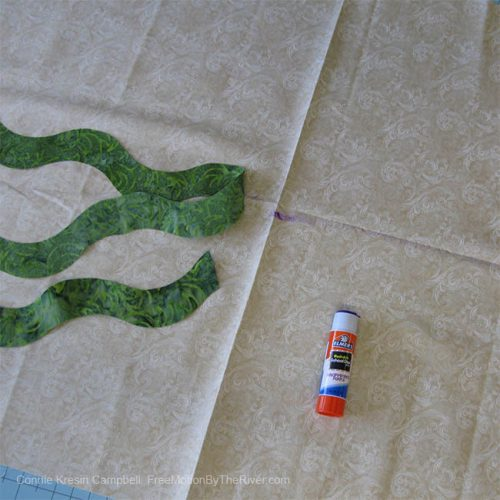 Using the AccuQuilt dies for the Fall Fest table runner