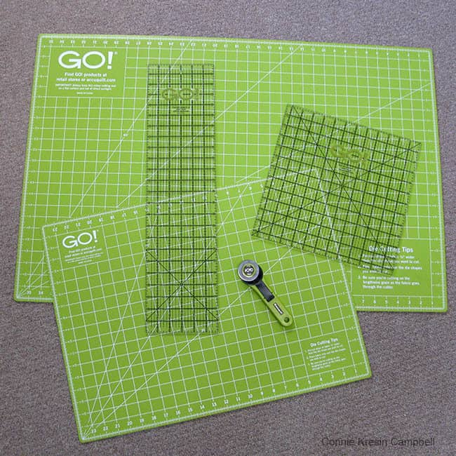 AccuQuilt Mats and Rulers