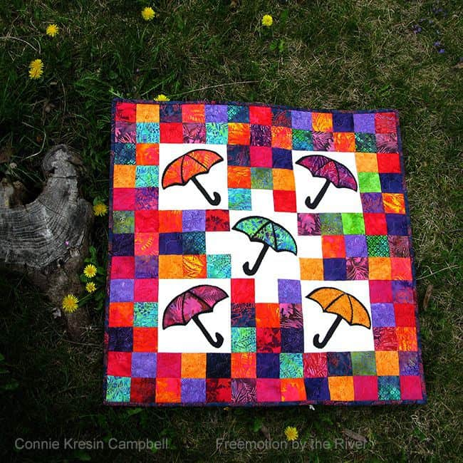Umbrella Quilt Tutorial