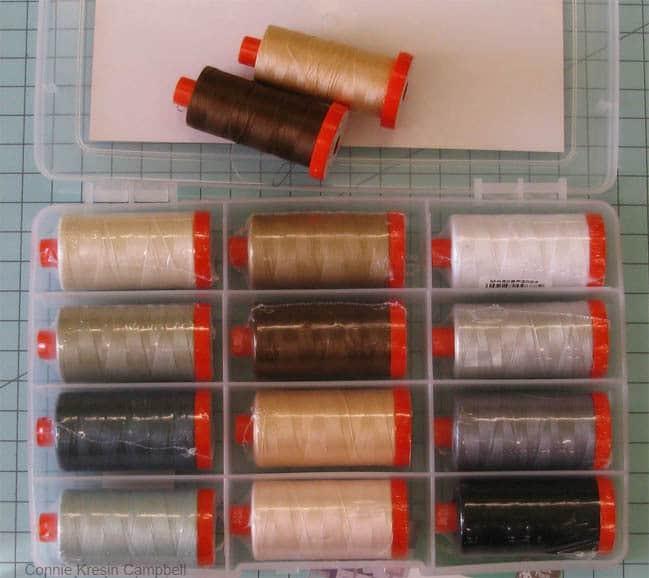 Piece and Quilt Collection Neutrals Aurifil