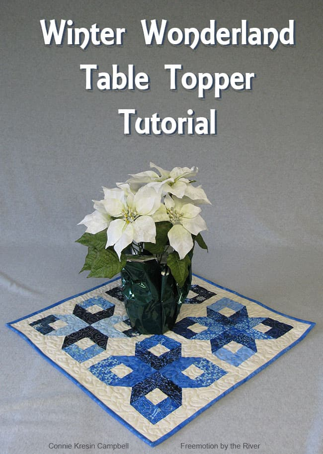 Topper Winter Wonderland Tutorial