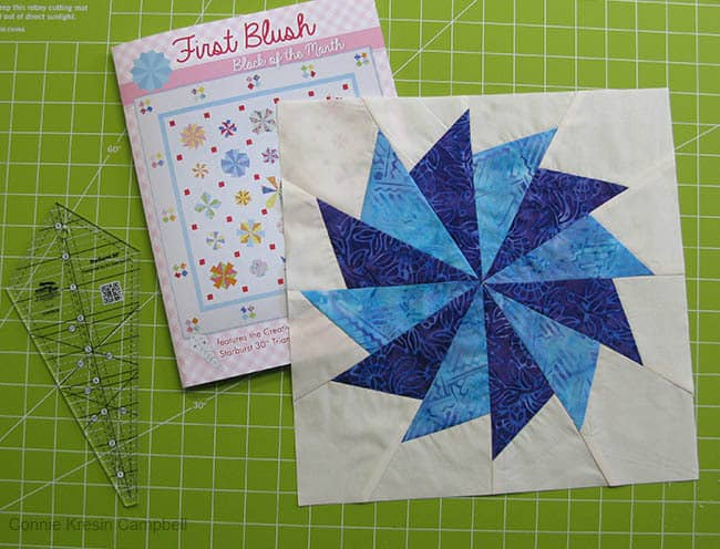 First Blush Book and block one