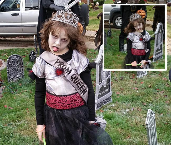 Halloween Walking Dead Prom Queen