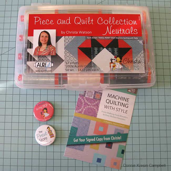 Piece and Quilt Collection Neutrals Aurifil by Christa Watson