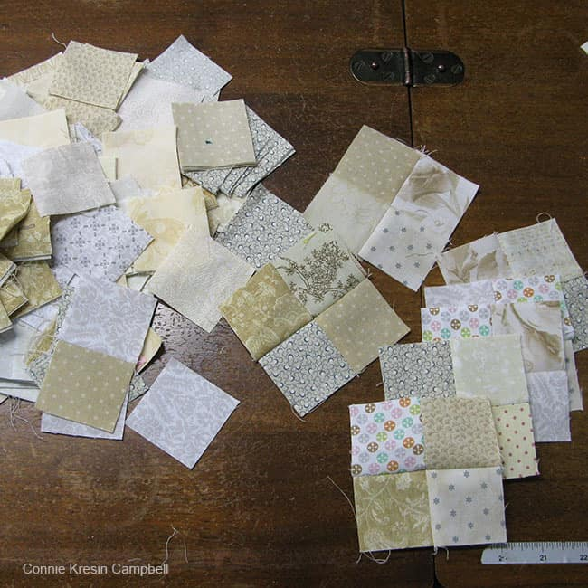 Neutral scraps for En Provence