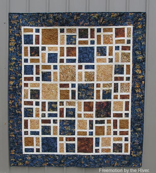 Scattered Quilt Pattern