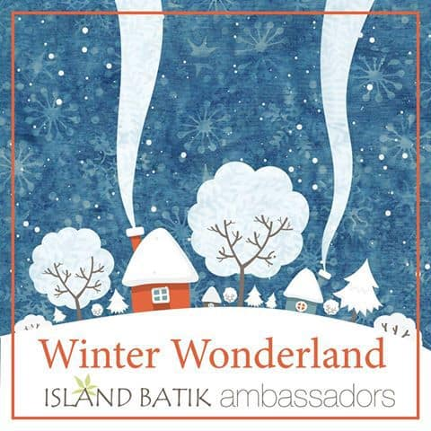 Winter Wonderland Island Batik