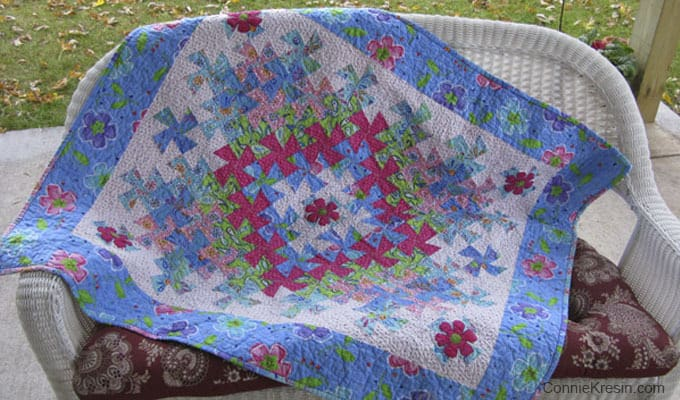 Worldly Lil Twister Quilt