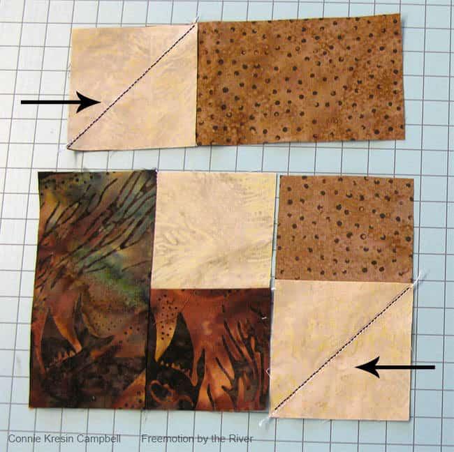 Adding the squares