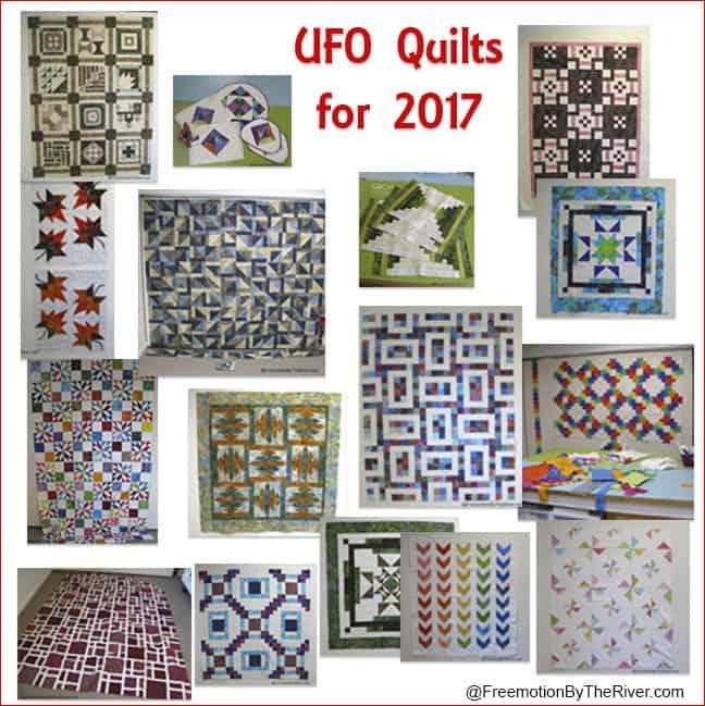 2017 Quilt UFO Challenges