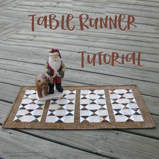 Serendipity Table Runner Tutorial