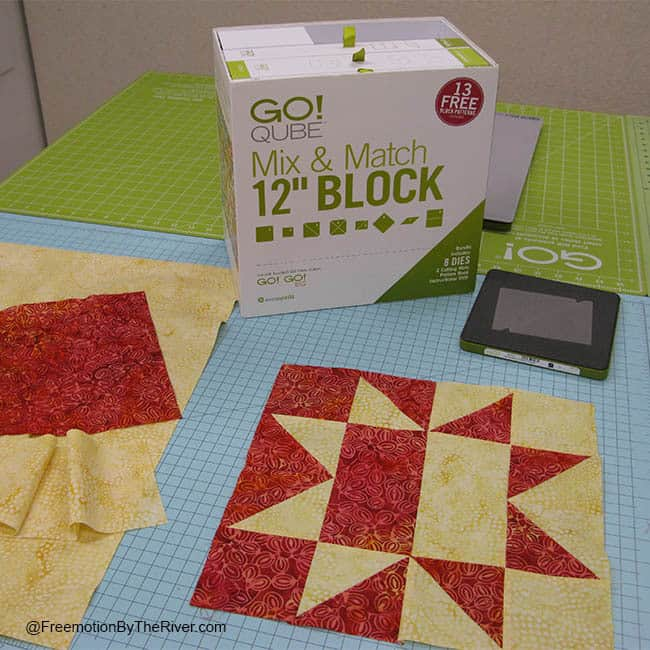 Day to Night AccuQuilt block