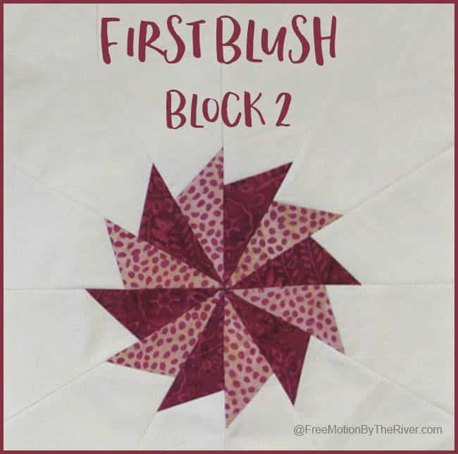 First Blush Block 2