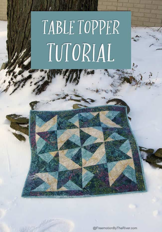 Table Topper Tutorial