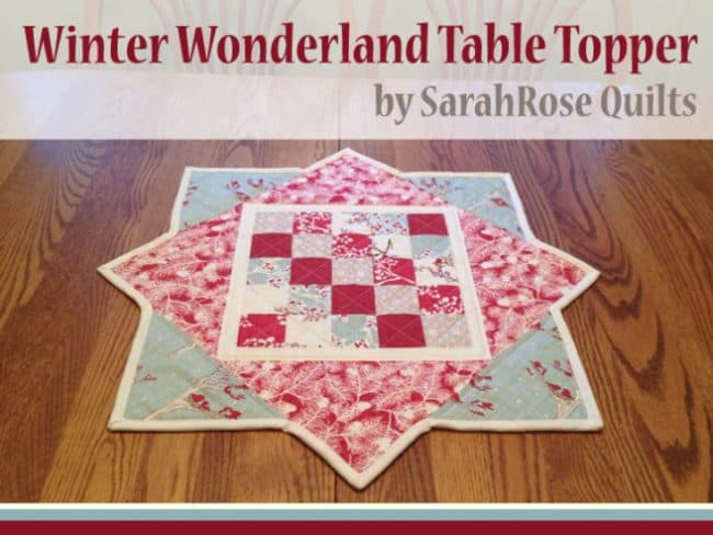 Winter Wonderland free pattern