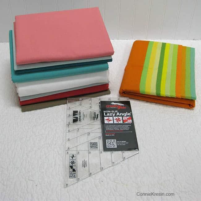 Bella Skill Builder QAL fabrics