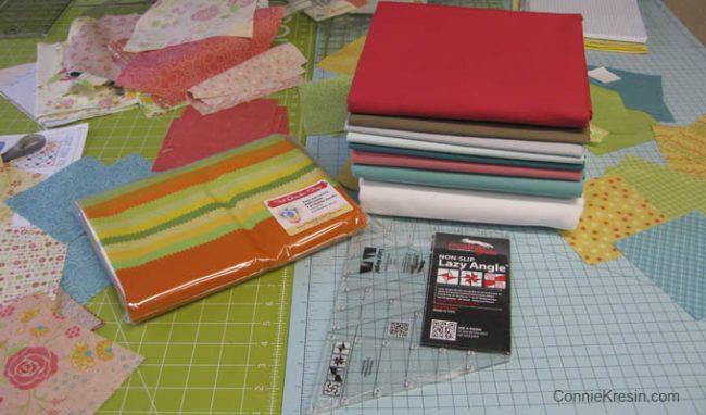 Bella Solid Fabrics for QAL