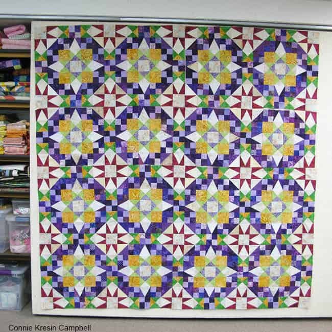 En Provence Quilt on Design Wall