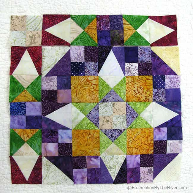 EnProvence Mystery Quilt