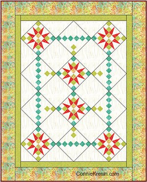 Fiesta quilt fabrics Sunday Drive by Pat Sloan