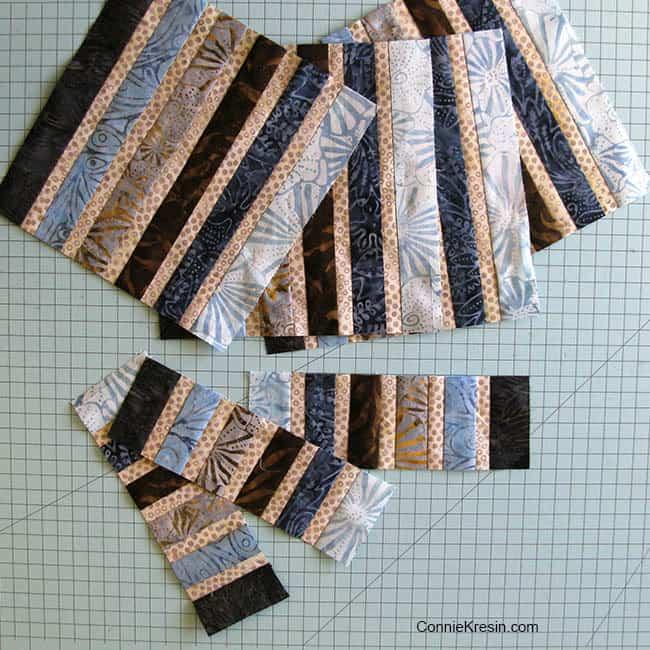 Jewel Table Runner Tutorial batiks sew Batik scraps for a mug rug