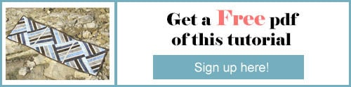 Jewel Tablerunner free PDF