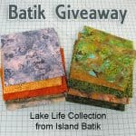 Lake Life Fabric Giveaway