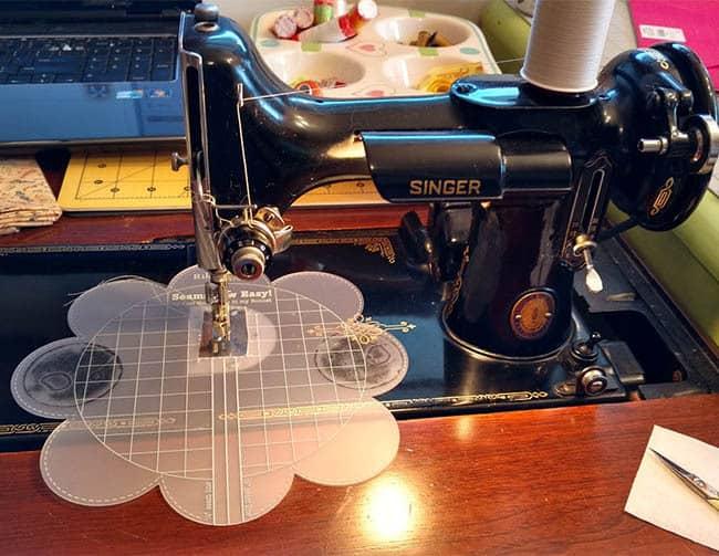Missys Featherweight sewing machine