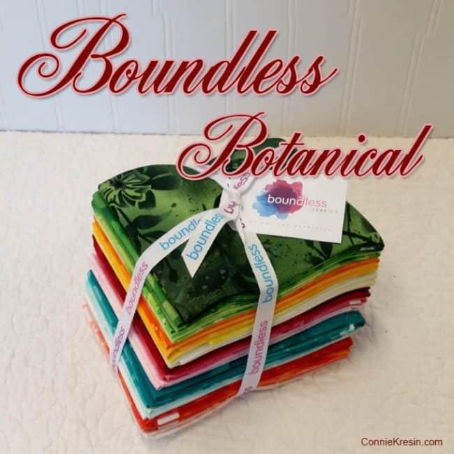 Boundless Botanical FQ Fabrics