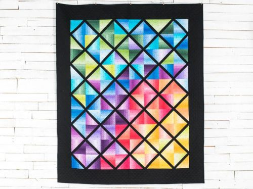 Colorblock Quilt Kit