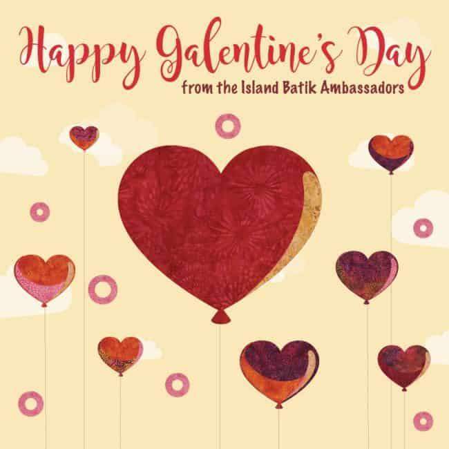 Happy Galentine's Day from the Island Batik Ambassadors