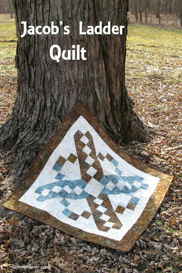 Jacobs Ladder Free Quilt Pattern tree