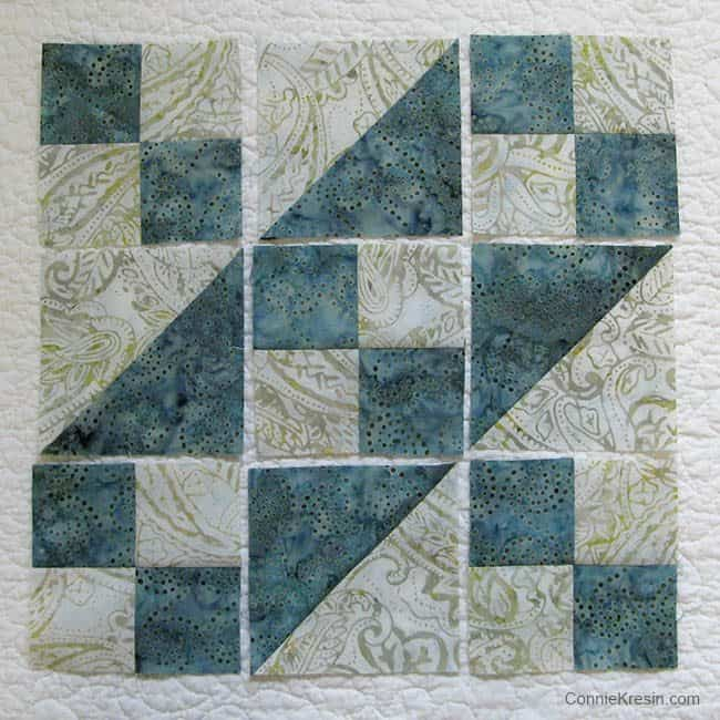 Jacobs Ladder easy quilt block