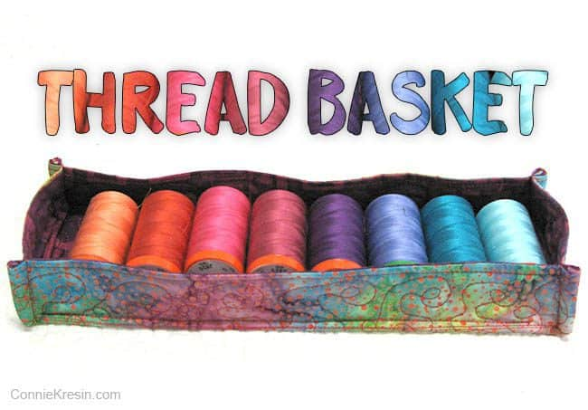 Aurifil Threads Batik Basket