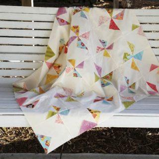 UFO # 8 Delainey's Twirls & Swirls Quilt baby quilt