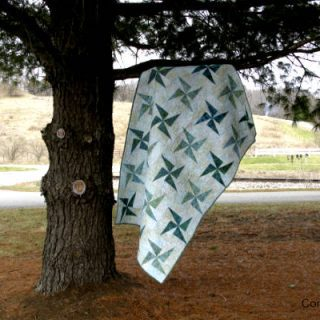 Twirling Windmills Quilt Tutorial