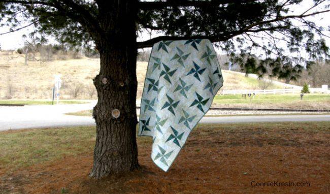 Twirling Windmills quilt