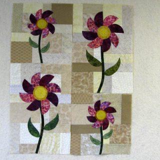 Applique Flower Blocks