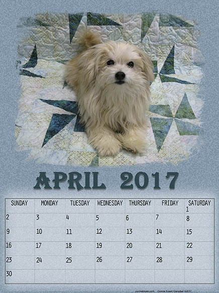 Sadie Free April Printable Calendars