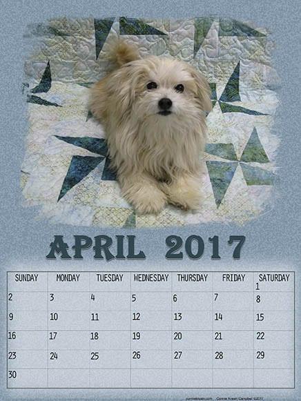 Sadie Free April Printable Calendars