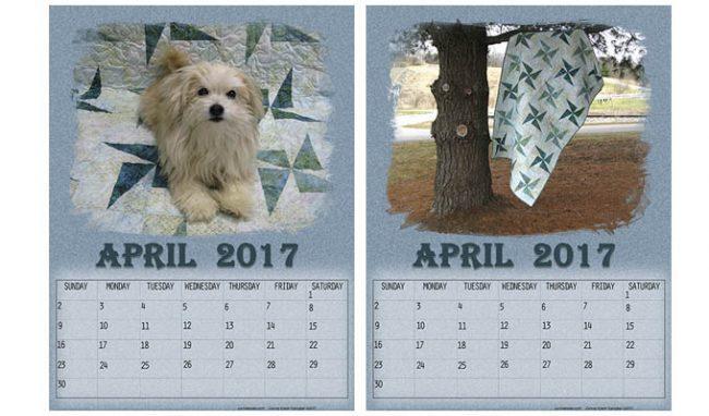 Free April 2017 Calendars