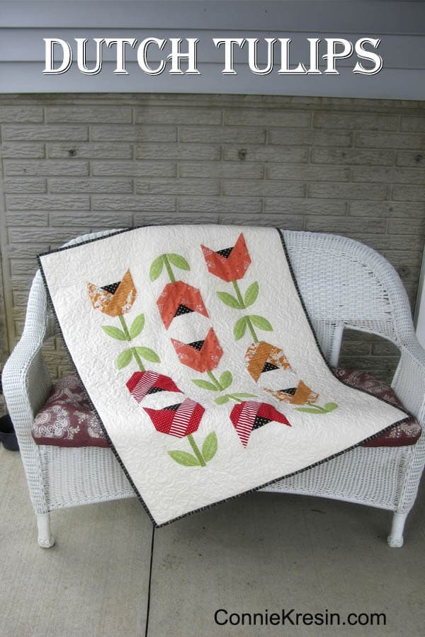 Dutch Tulips Quilt Along