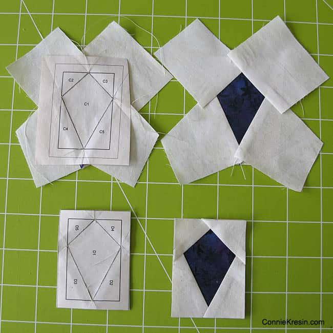 Mini Birds Tutorial paperpiecing
