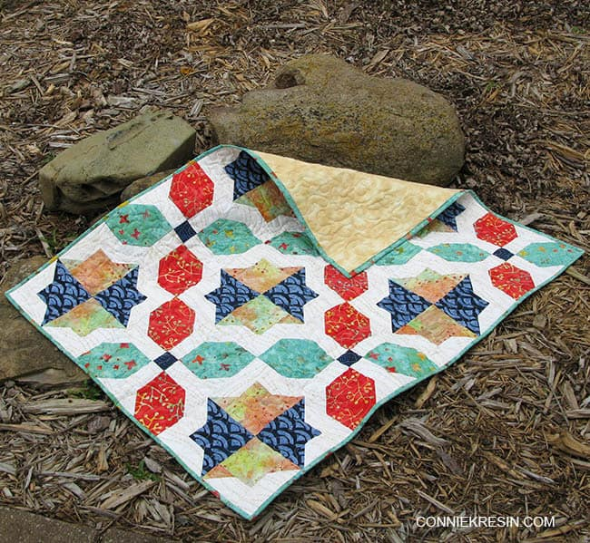 Morning Glory baby Quilt
